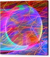 Electric Star Canvas Print