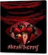 Electric Strawberry II Canvas Print