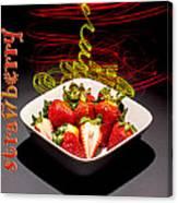 Electric Strawberry IIi Canvas Print
