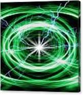 Electric Strom Canvas Print