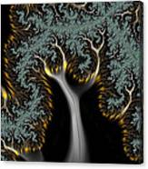 Electric Tree - Phone Cases And Cards Canvas Print