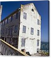 Electrical Repair Shop Alcatraz Island Canvas Print