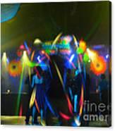 Electronic Dance Trance Canvas Print