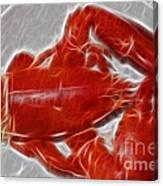 Electrostatic Lobster Canvas Print