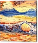 Elegant Eclipse II Canvas Print
