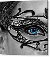 Elegant Mask Canvas Print