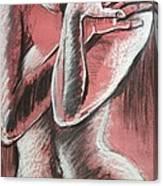 Elegant Pink - Nudes Gallery Canvas Print