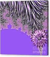 Elegant Tentacles Purple And Lilac Canvas Print