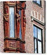 Elegant Window In Bergen Canvas Print