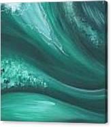 Elemental Sea No 2 Canvas Print