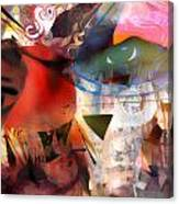 Elements Of Estrogen  Canvas Print