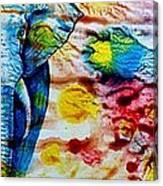 Elepant Abstract Canvas Print