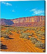 Elephant Butte From Wildcat Trail In Monument Valley Navajo Tribal Park-arizona   Canvas Print