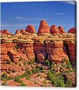 Elephant Canyon Panorama Canvas Print