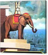 Elephant Castle Canvas Print