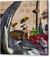 Elephant Celebration Canvas Print