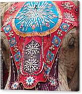 Elephant Mechanical Canvas Print