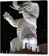 Elephant Statue Canvas Print