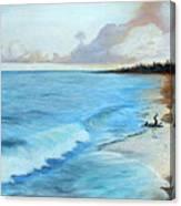 Eleutheran Seashore Canvas Print