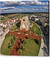 Elevated View Of Ave Maria Oratory Canvas Print