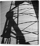 Elevator Shadow Canvas Print