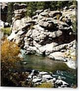 Eleven Mile Canyon - Mountain Stream Canvas Print