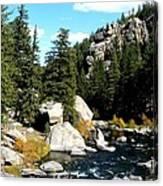 Eleven Mile Canyon Stream Canvas Print