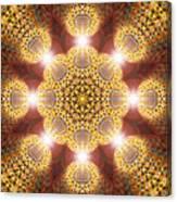 Eleven Sacred Steps Of Light K1 Canvas Print