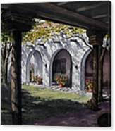 Elfrida Courtyard Canvas Print