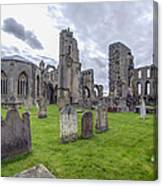 Elgin Cathedral Community - 3 Canvas Print