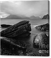 Elgol Beach Isle Of Skye Scotland Uk Canvas Print