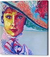 Eliza Doolittle Canvas Print