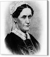 Eliza Mccardle Johnson (1810-1876) Canvas Print