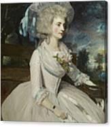 Elizabeth Countess Of Warwick Canvas Print