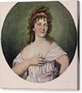 Elizabeth Monroe (1768-1830) Canvas Print