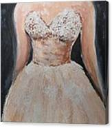 Lacey Dress Canvas Print