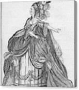 Elizabeth Younge (d Canvas Print