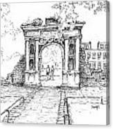 Elizabeth's Gate Canvas Print