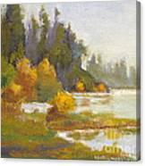 Elk Island 3 Canvas Print