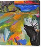 Bugle Boys Canvas Print