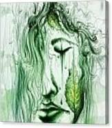 Ella En Verano Canvas Print