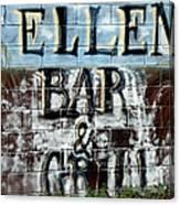 Ellen's Place Canvas Print