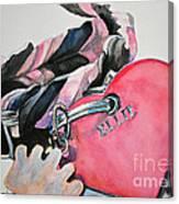 Ellie's Tags Canvas Print
