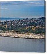 Elliott Bay Marina Canvas Print