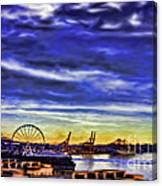 Elliott Bay Canvas Print