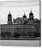 Ellis Island New York City Canvas Print