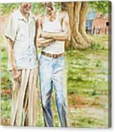 Elmer's Peaches Canvas Print