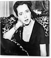 Elsa Schiaparelli (1890-1973) Canvas Print