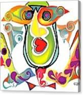 Elton John Bubble Bath Canvas Print