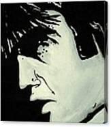Elvis.     The King Canvas Print